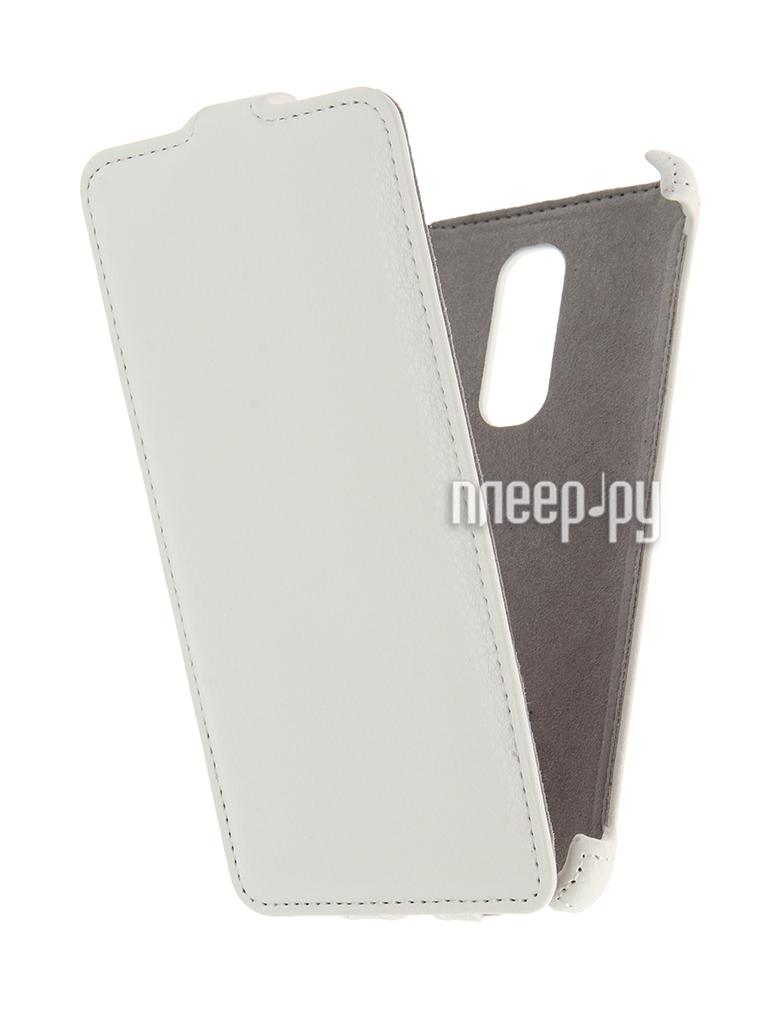 Аксессуар Чехол Lenovo Vibe X3 Activ Flip Case Leather White 58524