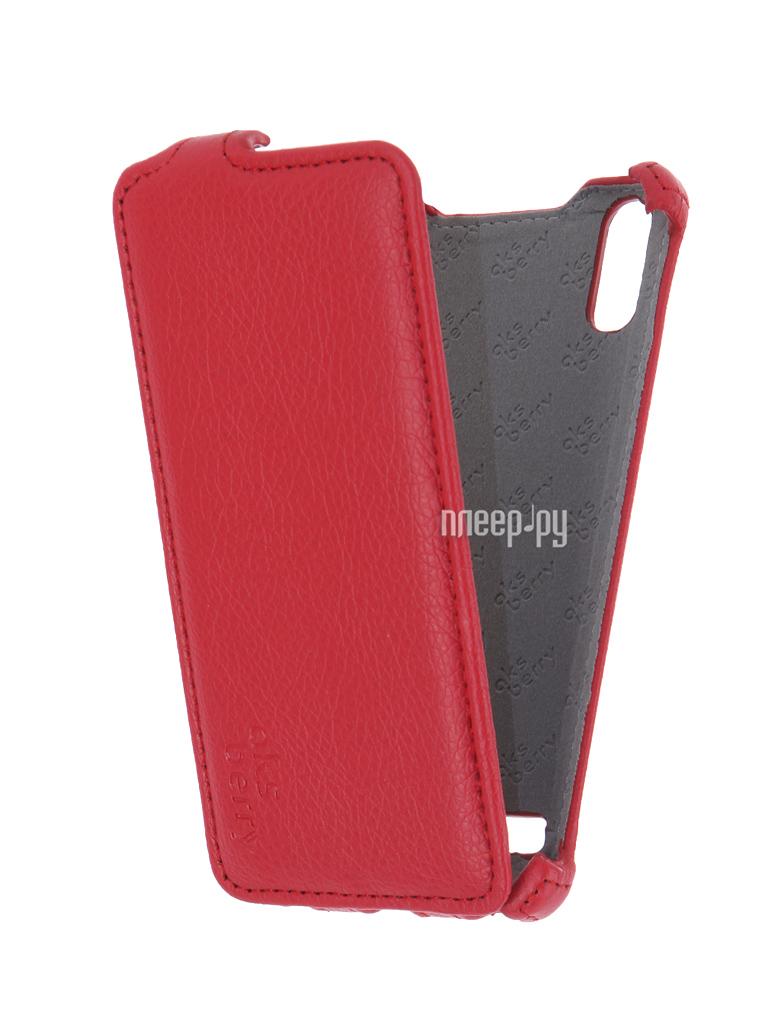 Аксессуар Чехол Lenovo A6010 / A6010 Plus Aksberry Red