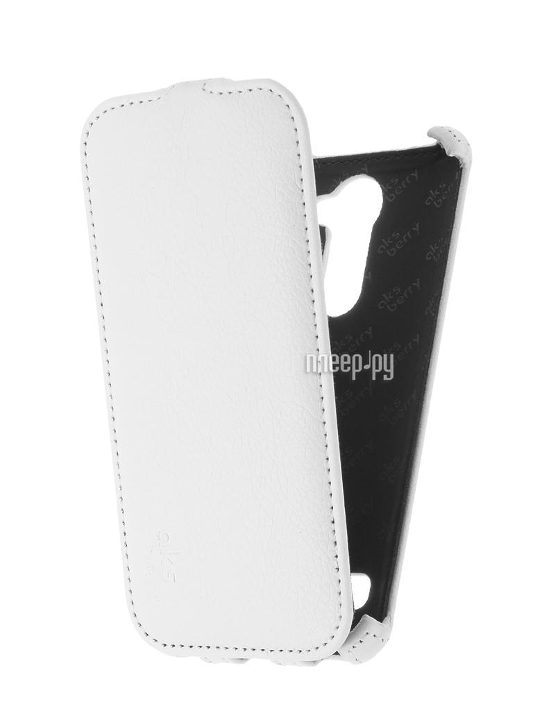 Аксессуар Чехол LG X190 Ray Aksberry White купить
