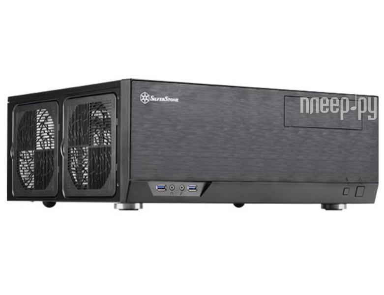 Корпус SilverStone Case Ss Grandia GD09B Black SST-GD09B