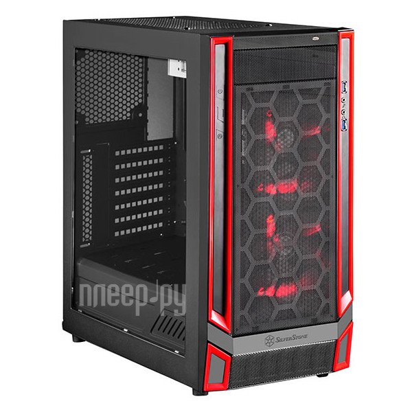 Корпус SilverStone Case Ss RedLine RL05BR-W SST-RL05BR-W