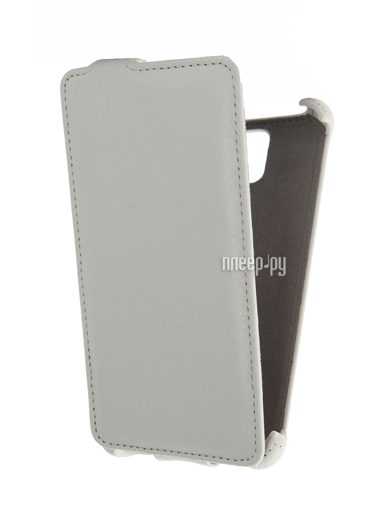 Аксессуар Чехол Lenovo A536 Activ Flip Case Leather White 43548