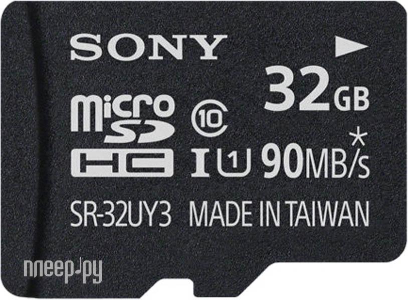Карта памяти 32Gb - Sony Micro Secure Digital UHS-1 Class 10 SR-32UY3A
