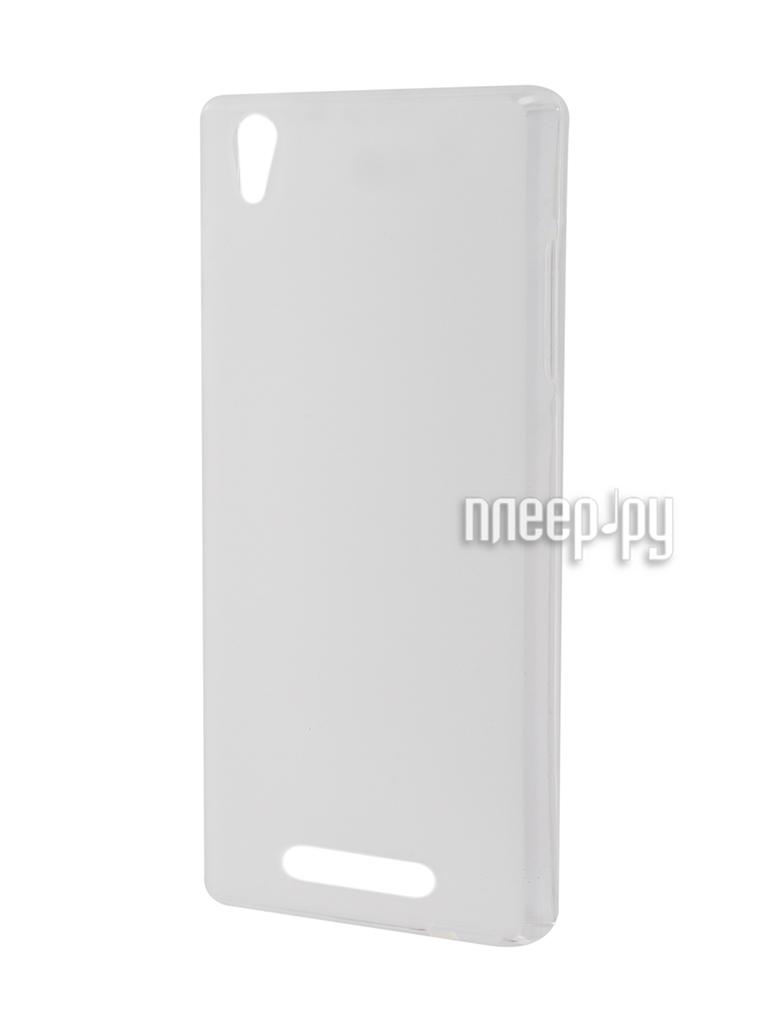 Аксессуар Чехол Philips V787 SkinBox Shield Silicone Transparent T-S-PV787-005