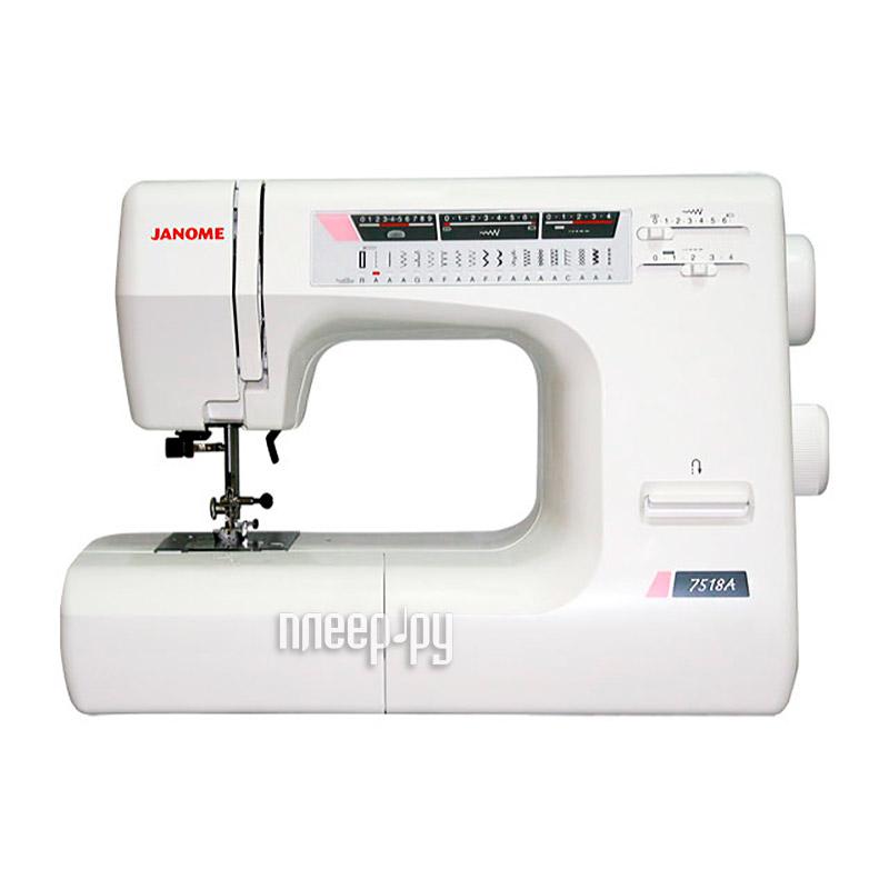 Швейная машинка Janome 7518А