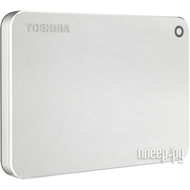 Жесткий диск Toshiba Canvio Premium 1Tb Silver HDTW110EC3AA / HDTW110ECMAA