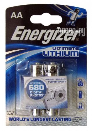 AA - Energizer Ultimate Lithium L91 FR6 (2 штуки)  Pleer.ru  187.000