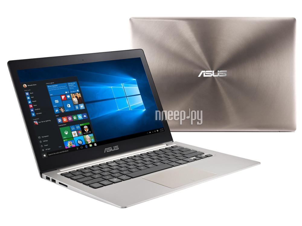 Ноутбук ASUS Zenbook UX303UA-R4259T 90NB08V1-M04150 (Intel Core i3-6100U 2.3 GHz / 4096Mb / 500Gb / No ODD / Intel HD Graphics / Wi-Fi / Cam / 13.3 / 1920x1080 / Windows 10 64-bit) 378908