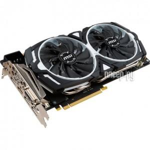Купить Видеокарта MSI GeForce GTX 1080 1657Mhz PCI-E 3.0 8192Mb 10010Mhz 256 bit DVI HDMI DP HDCP ARMOR 8G OC