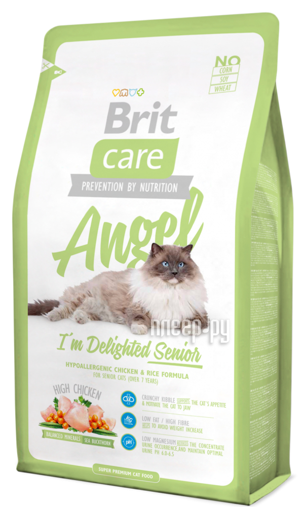 Корм Brit Care Cat Angel Delighted Senior 0.4kg для кошек 132608 / 5807