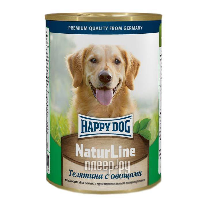 Корм Happy Dog Телятина / Овощи 400g 71441
