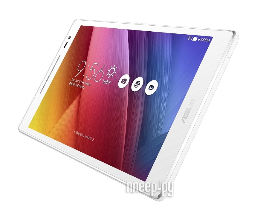 Планшет ASUS ZenPad Z380M-6B024A Pearl White 90NP00A2-M00810 (MediaTek MT8163 1.3 GHz / 1024Mb / 16Gb / Wi-Fi / Bluetooth / Cam / 8.0 / 1280x800 / Android)