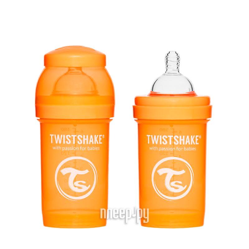 Бутылочка Twistshake 180ml Orange 780003
