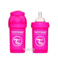 Бутылочка Twistshake 180ml Pink 780001