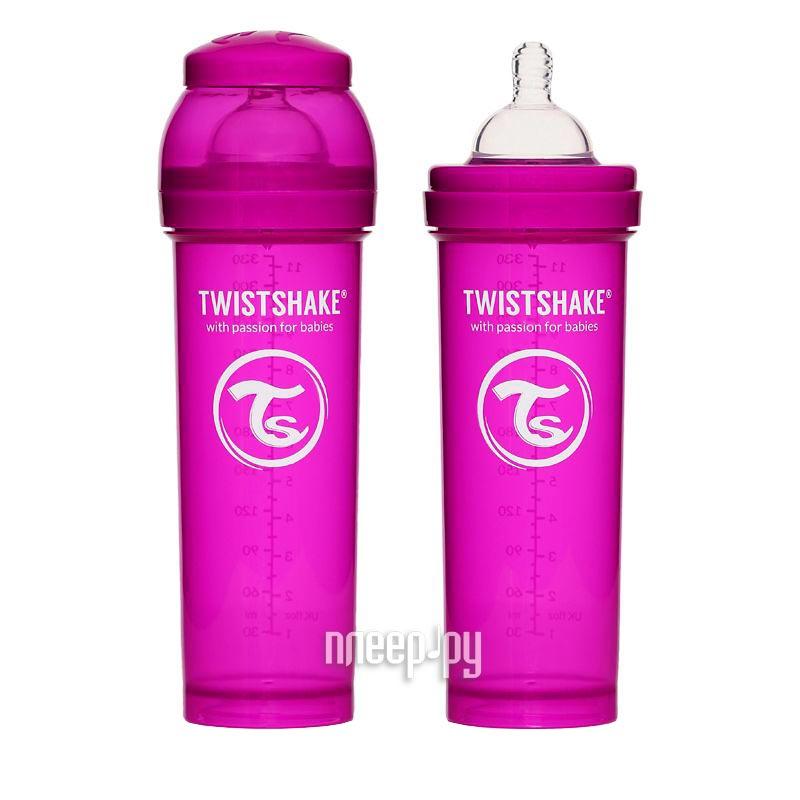 Бутылочка Twistshake 330ml Purple 780017