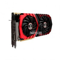 Видеокарта MSI GeForce GTX 1080 1708Mhz PCI-E 3.0 8192Mb 10108Mhz 256 bit DVI HDMI HDCP GTX 1080 GAMING X 8G 912-V336-001