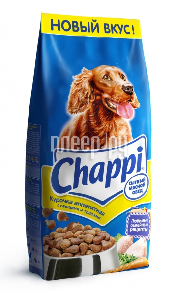 Корм Chappi Курочка аппетитная 15kg YY082