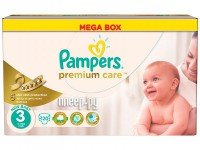 Подгузники Pampers Premium Care Midi 5-9кг 120шт 4015400465461