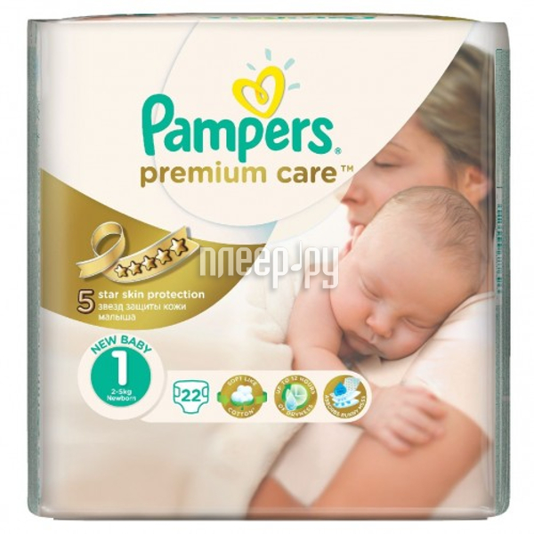 Подгузники Pampers Premium Care Newborn