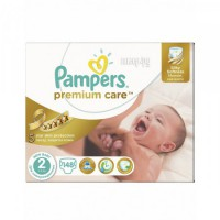 Подгузники Pampers Premium Care 3-6кг 148шт 4015400770275