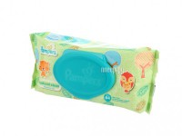 Салфетки Pampers Natural Clean 64шт 4015400636830