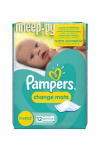 Пеленки Pampers ChangeMats 60х60см 12шт 4015400827481