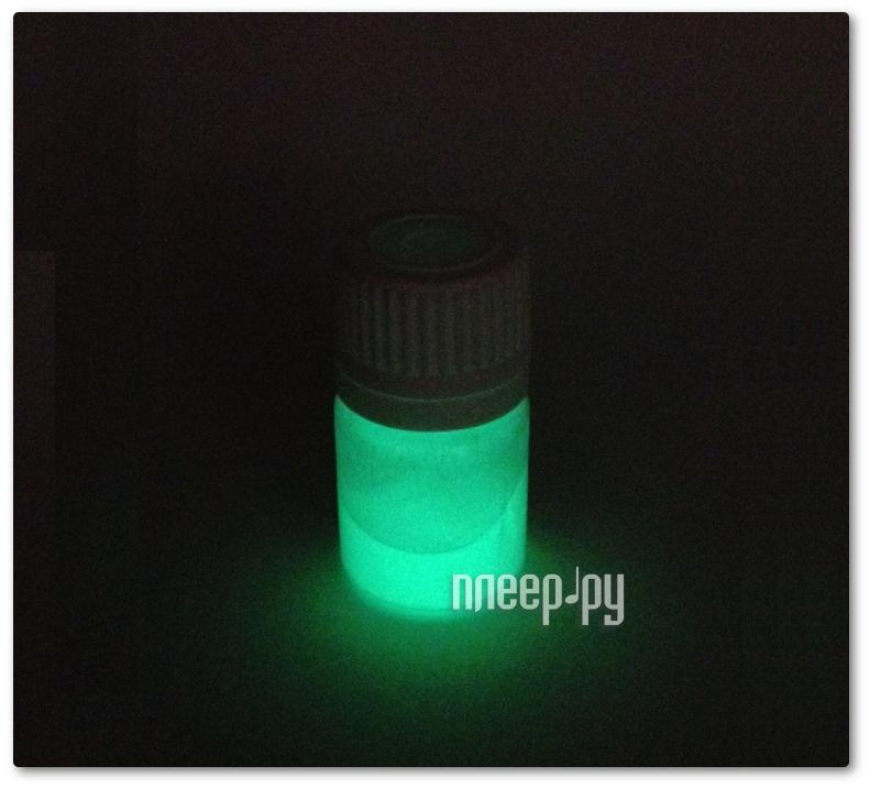 Набор для лепки Краситель светящийся для полиморфуса 1.5г Light Green