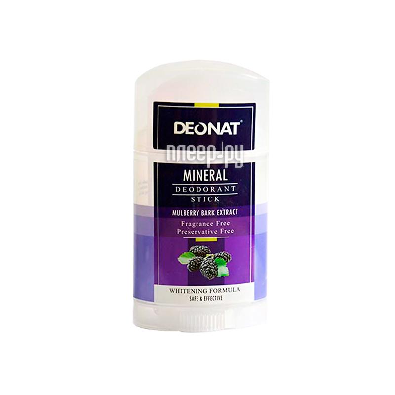Дезодорант DeoNat 100г шелковичный минеральный