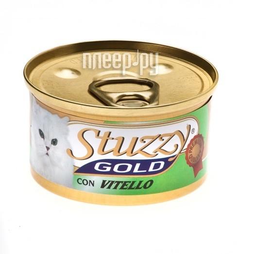 Корм Stuzzy Gold Телятина 85g для кошек 132.C421