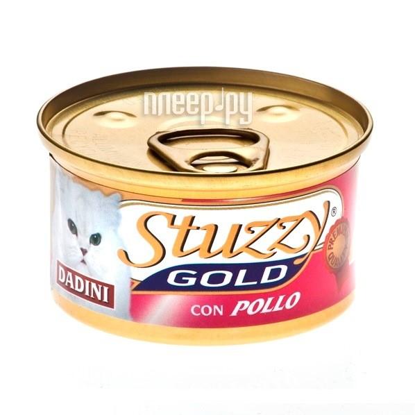 Корм Stuzzy Gold Курица 85g для кошек 132.C434