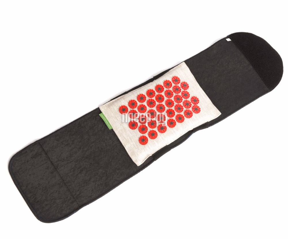Массажер Тибетский аппликатор Пояс с двумя сменными мягкими подушечками