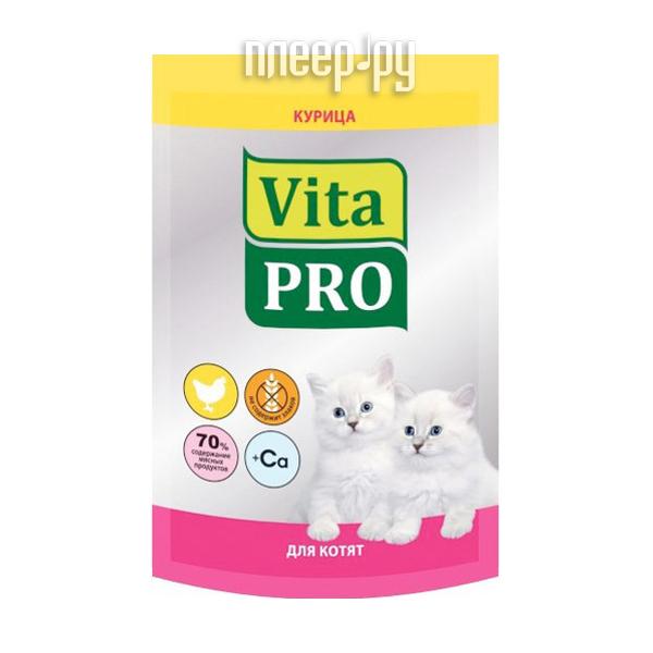 Корм VITA PRO Курица 100g для котят 55072 / 90110