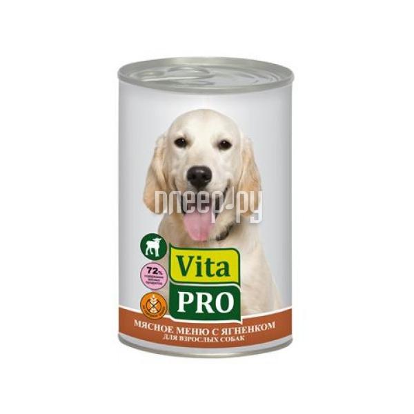 Корм VITA PRO Ягнятина 400g для собак 90015