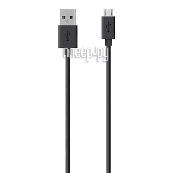 Аксессуар Belkin USB to Micro USB Cable 2.0m Black F2CU012bt2M-BLK
