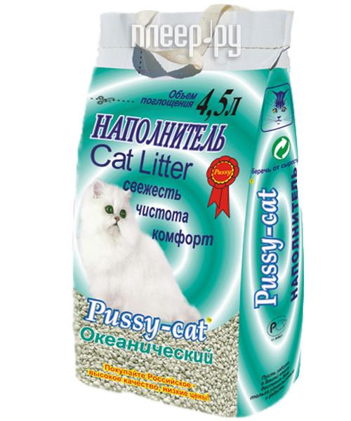 Наполнитель Pussy-Cat Океанический 4.5л 12083