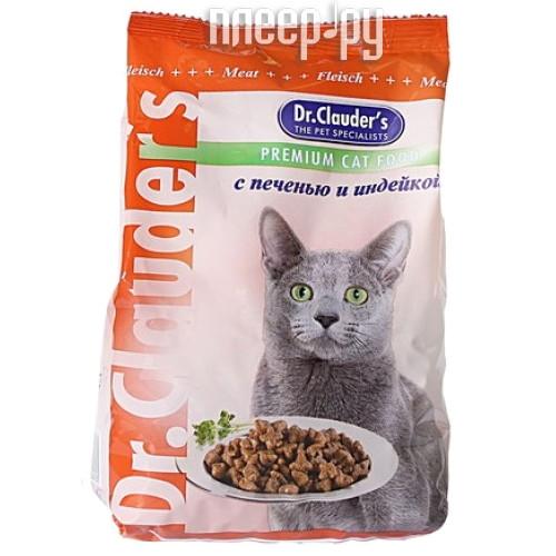 Корм Dr.Clauders Печень / Индейка 400g для кошек 00100124