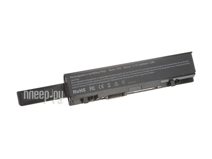 Аккумулятор 4parts LPB-1535H для DELL Studio 1535/1536/1537/1555/1557/1558 Series 11.1V 6600 mAh аналог PN:KM887/KM905/MT275