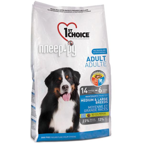 Корм 1st CHOICE Курица 15kg для собак 102.317