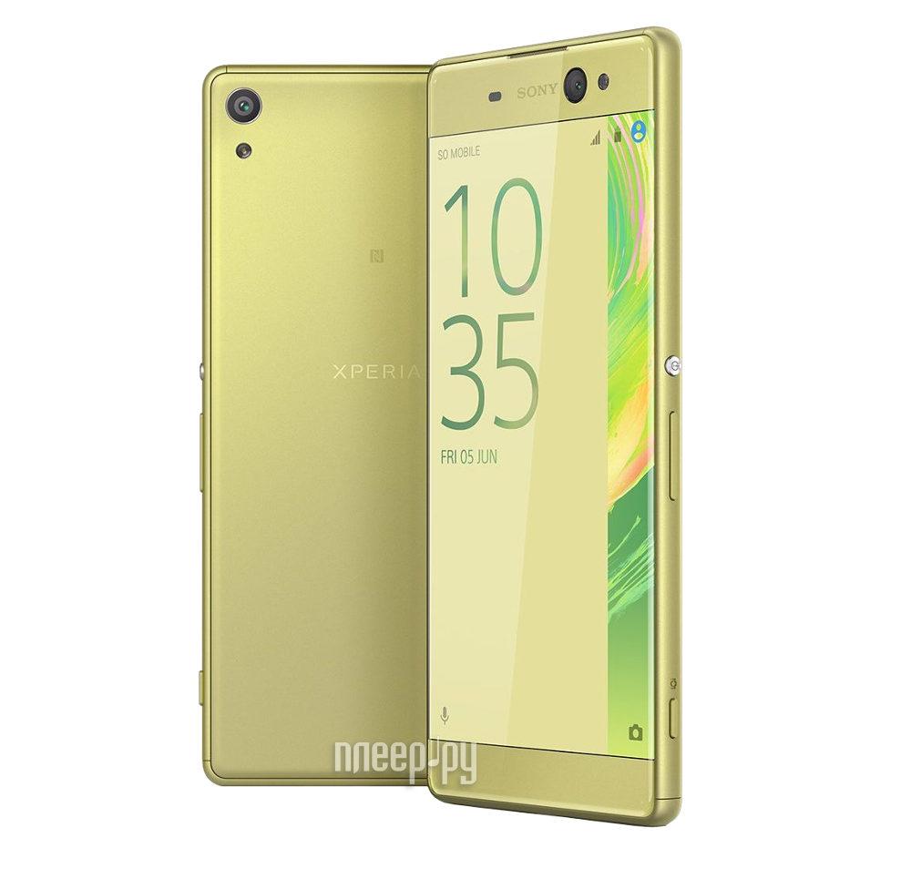 Сотовый телефон Sony F3212 Xperia XA Ultra Dual Lime Gold купить
