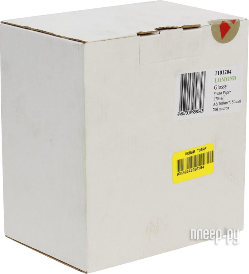 Фотобумага Lomond 1101204 глянцевая 170g / m2 10x15cm 700 листов