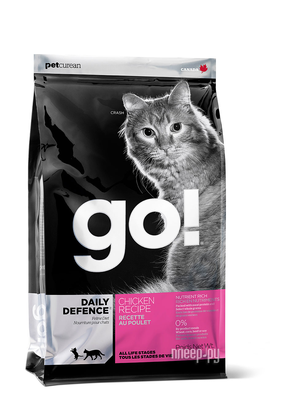 Корм GO! Курица / Фрукты / Овощи 3.63kg для котят и кошек 00765
