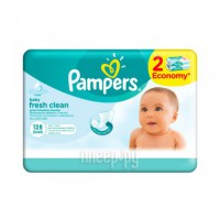 Салфетки Pampers Fresh Clean Duo 2x64 4015400439202