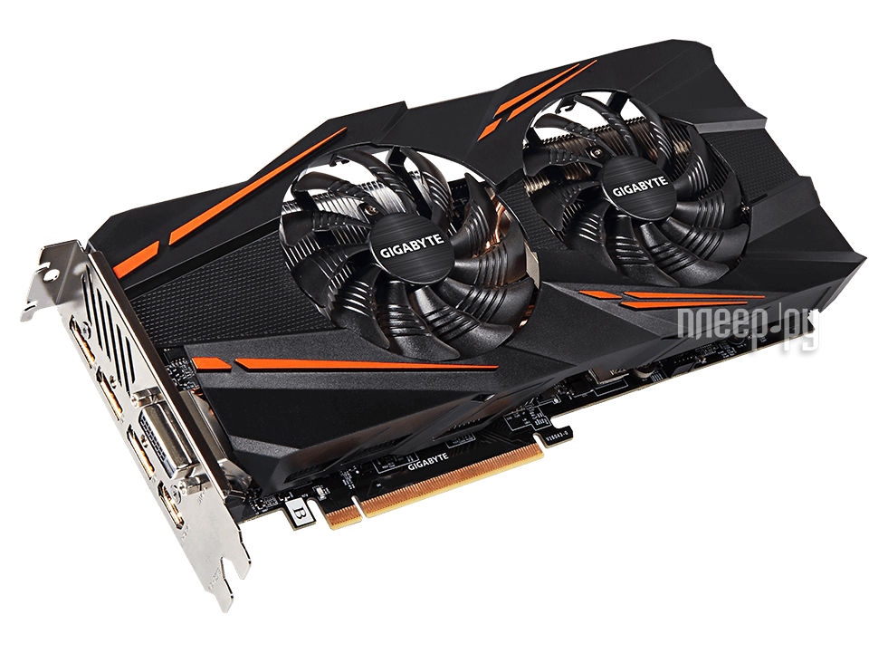 Видеокарта GigaByte GeForce GTX 1070 1582Mhz PCI-E 3.0 8192Mb