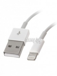 Аксессуар Aksberry USB - Lightning 8-pin White