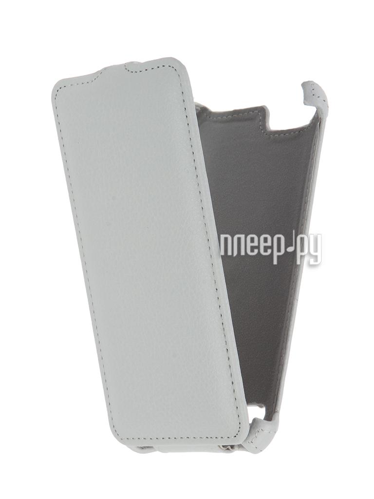 Аксессуар Чехол Lenovo Vibe K5 / K5 Plus A6020 Gecko White GG-F-LENVIBEK5-WH