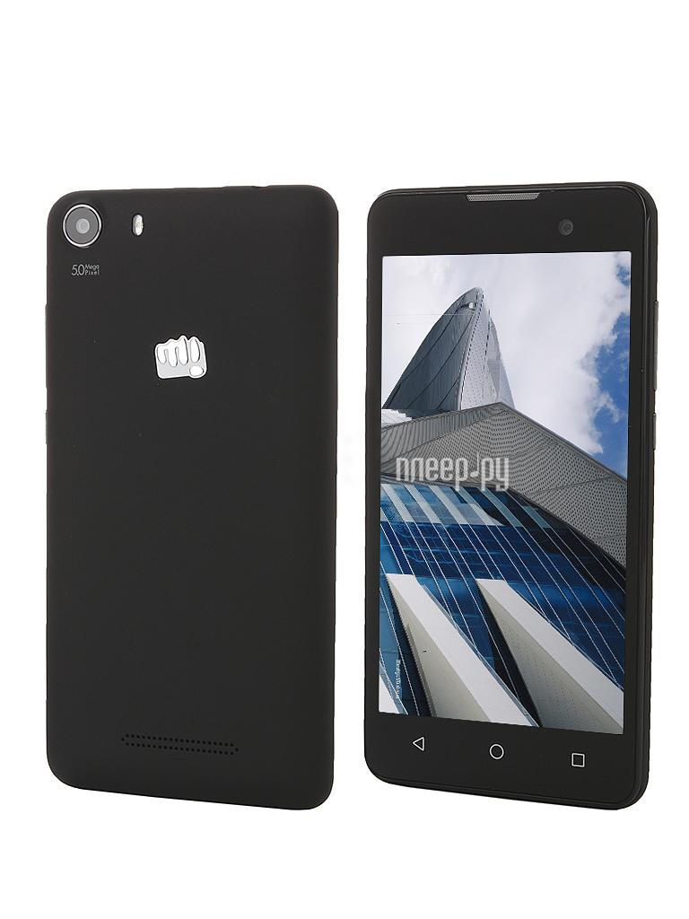 Сотовый телефон Micromax Q334 Canvas Magnus Black