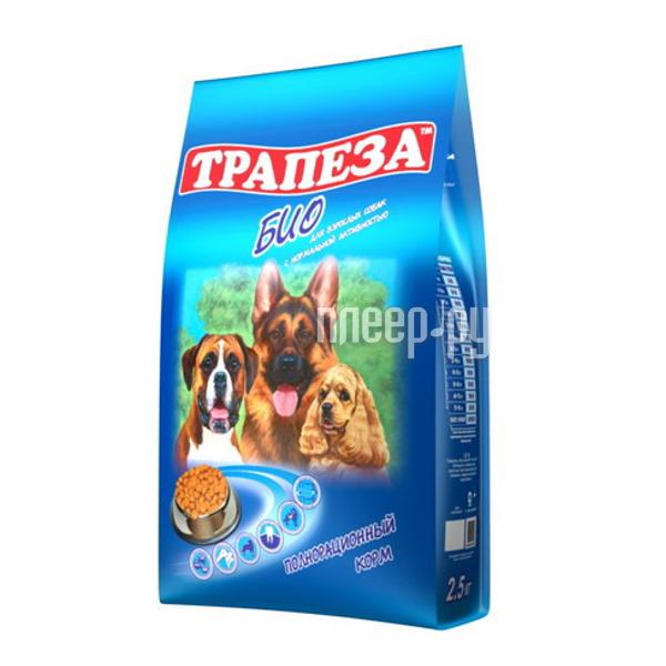 Корм Трапеза Био 2.5kg для собак 11801