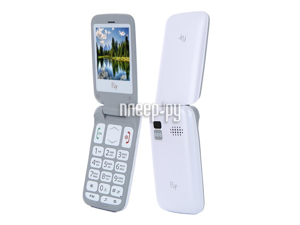 Сотовый телефон Fly Ezzy Trendy 3 White