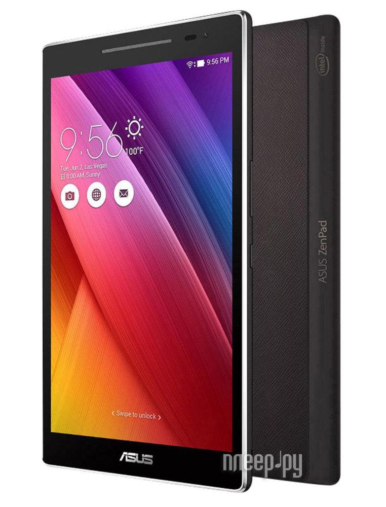 Планшет ASUS ZenPad 8 Z380KNL-6A031A Black 90NP0246-M03100 (Qualcomm Quad Core 8916 1.2 GHz / 1024Mb / 16Gb / LTE / Wi-Fi / Cam / 8.0 / 1280x800 / Android)