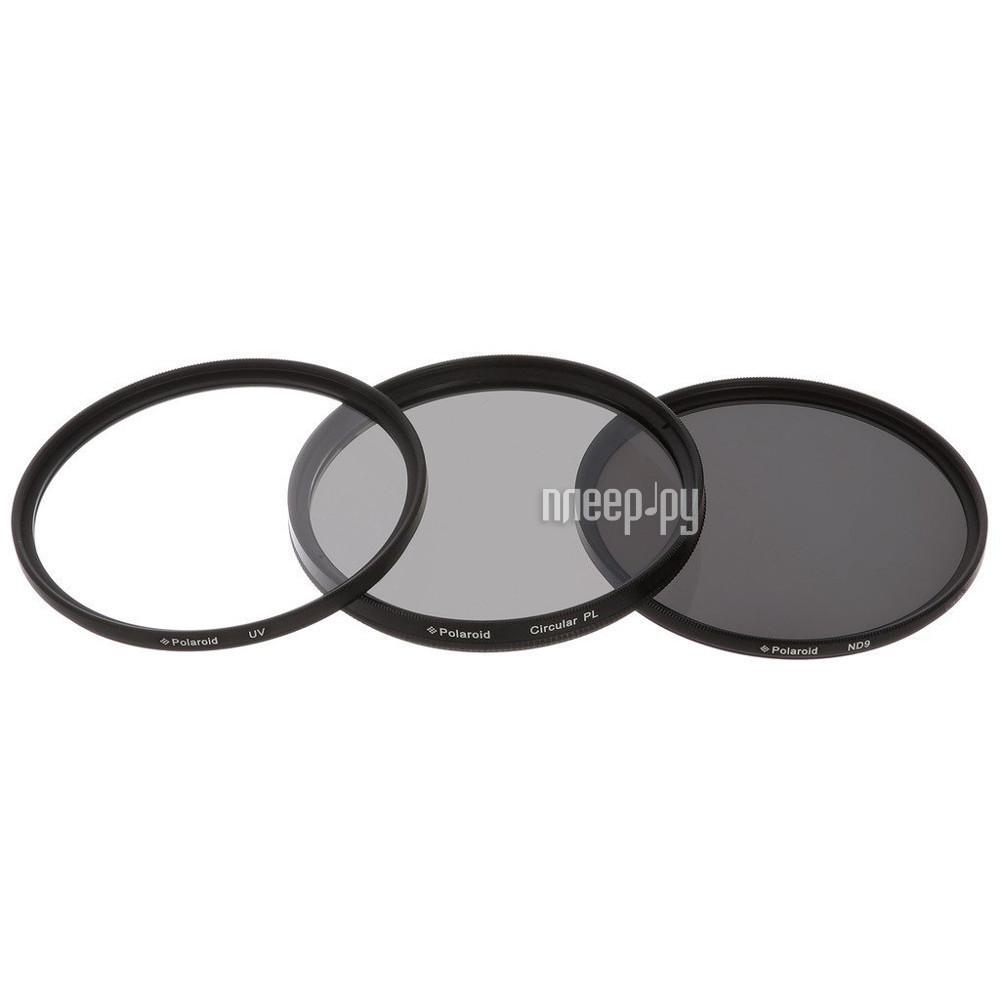 Светофильтр Polaroid UV-CPL-ND9 40.5mm - набор фильтров PL3FILND40.5